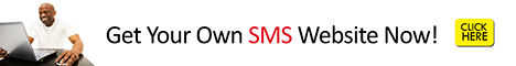 Get Your Own SMS WebSIte