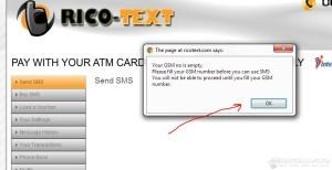 GSM Warning