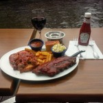 Lunch at the Hard Rock Cafe